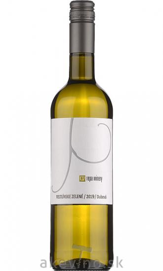 Repa Winery Veltlínske zelené 2019 akostné odrodové