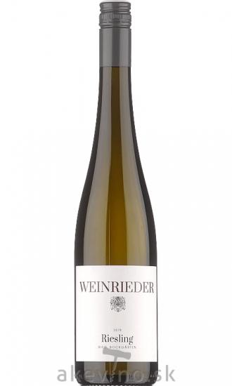 Weinrieder Riesling Ried Bockgärten 2019