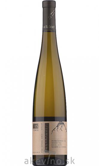 Domin & Kušický Chardonnay BIO 2015 neskorý zber