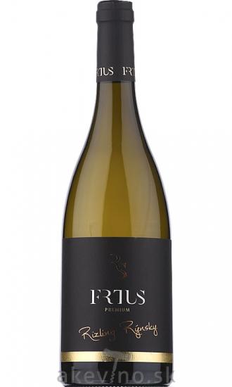 Frtus Winery Premium Rizling rýnsky 2019 akostné odrodové