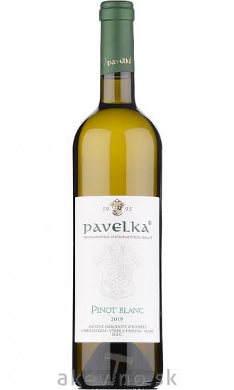 Pavelka Pinot Blanc 2019 výber z hrozna