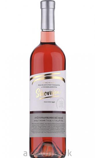 Skovajsa Svätovavrinecké rosé 2019