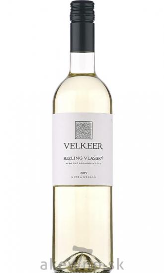 Velkeer Rizling vlašský 2019 akostné odrodové
