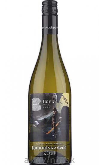 Vinárstvo Berta Winemakers Choice Rulandské šedé 2018