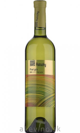 Víno Ratuzky Pinot gris 2019