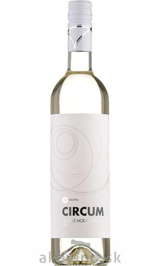 Víno Nichta Circum Muškát Moravský 66 2020 akostné odrodové sladké