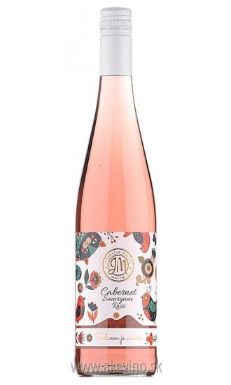 JM Vinárstvo Doľany Cabernet sauvignon rosé 2018 polosuché