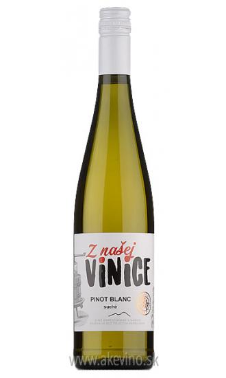 JM Vinárstvo Doľany Z NAŠEJ VINICE Pinot blanc