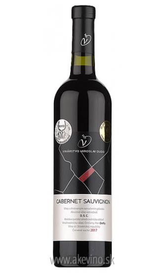 Víno Dudo Cabernet Sauvignon 2017 akostné odrodové