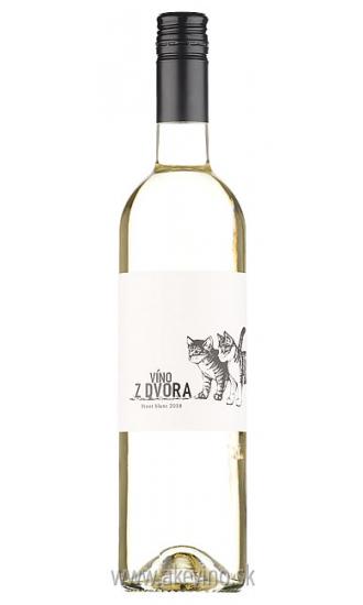 Víno z dvora Pinot Blanc 2018 sladké