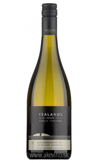 Yealands Estate Single Vineyard Sauvignon blanc Marlborough 2017