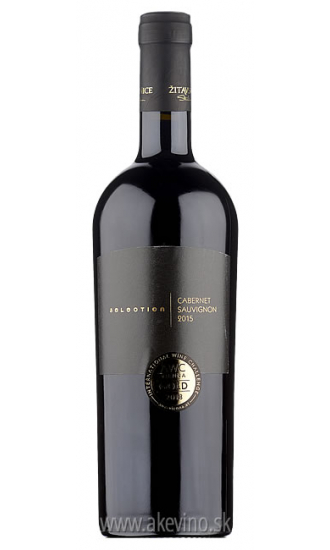 Žitavské vinice Cabernet Sauvignon selection 2015