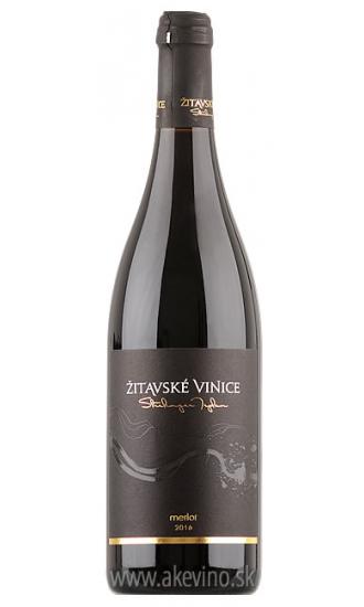 Žitavské vinice Merlot 2016 barrique
