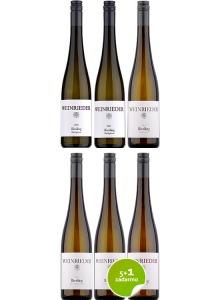 Weinrieder Riesling vertikálna degustácia 5+1 zadarmo