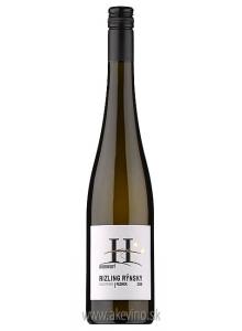 Víno Hubinský Rizling rýnsky Holopereg 2018 akostné odrodové