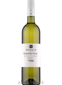 Myslík Winery Rulandské biele 2019 polosuché