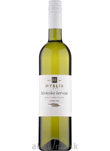 Myslík Winery Silvánske červené 2019