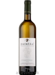 Pavelka Chardonnay 2018 výber z hrozna