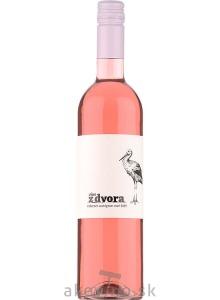 Víno z dvora Cabernet sauvignon rosé 2019