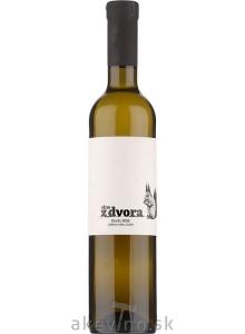 Víno z dvora Devín 2018 cibébový výber sladké 0.5L