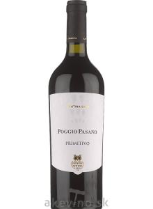 Cantina Sava Poggio Pasano Primitivo Puglia IGP 2018