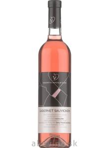 Víno Dudo Cabernet Sauvignon rosé 2019 neskorý zber polosuché