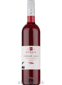 Myslík Winery Višňové víno 2019 polosladké
