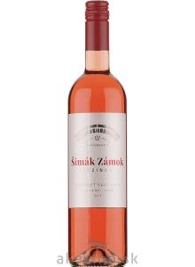 Zámocké vinárstvo Šimák Pezinok Cabernet sauvignon rosé 2019 neskorý zber sladké