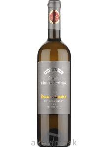 Zámocké vinárstvo Šimák Pezinok Edícia Roman Janoušek Rizling rýnsky 2018 neskorý zber
