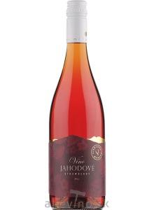 Miluron Jahodové víno sladké