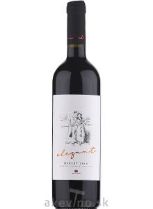 Vinidi Merlot Elegant 2013 akostné značkové