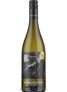 Vinárstvo Berta Winemakers Choice Rulandské šedé 2017