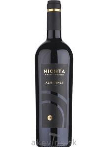 Víno Nichta NICHTA Alibernet 2017 akostné odrodové
