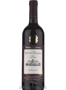 Chateau Topoľčianky Archívne víno Cabernet Sauvignon 2014 akostné odrodové