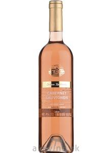 Chateau Topoľčianky Fresh Cabernet Sauvignon rosé 2019 neskorý zber polosladké