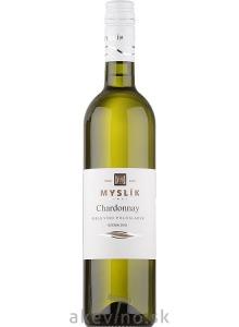 Myslík Winery Chardonnay 2019 polosladké