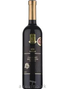 Vinkor Cabernet Sauvignon 2015 výber z hrozna