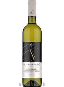 Víno Dudo Veltlínske zelené 2019 neskorý zber