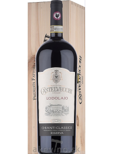 Castelvecchi Lodolaio Chianti Classico Riserva DOCG 2015 Magnum 1.5L Wooden box