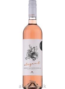 Vinidi Cabernet sauvignon rosé Elegant 2019 neskorý zber polosuché