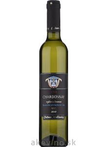 Chateau Topoľčianky Chardonnay 2018 výber z hrozna sladké 0.5l