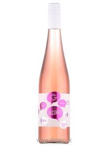 Golguz Rosé Elizabeth frizzante 2017 akostné značkové polosladké