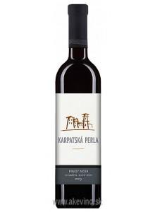 Karpatská perla Pinot Noir 2013 výber z hrozna