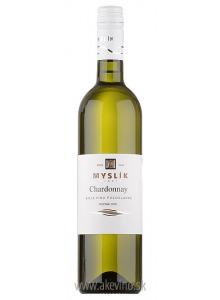 Myslík Winery Chardonnay 2018 polosladké