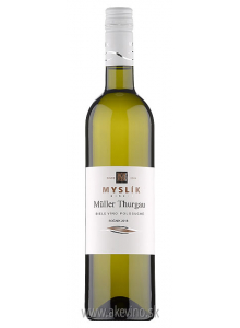 Myslík Winery Müller-Thurgau 2018 polosuché