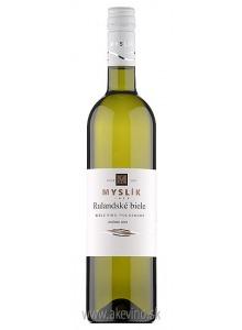 Myslík Winery Rulandské biele 2018 polosuché
