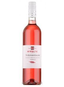 Myslík Winery Svätovavrinecké rosé 2018 polosladké