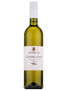 Myslík Winery Veltlínske zelené 2018