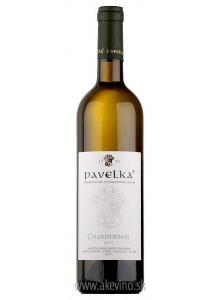 Pavelka Chardonnay 2017 výber z hrozna