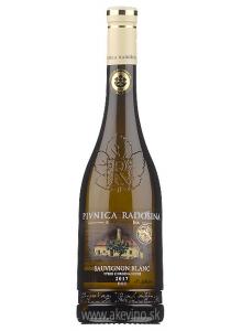 Pivnica Radošina Sauvignon blanc 2017 výber z hrozna